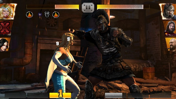 WWE Immortals на андроид - top-android.org